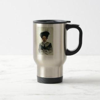 Portrait of an Unknown Woman by Ilya Repin Coffee Mug