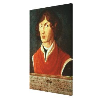 Portrait of Andreus Nikolaus Copernicus  1575 Canvas Print