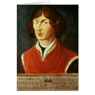 Portrait of Andreus Nikolaus Copernicus  1575 Card