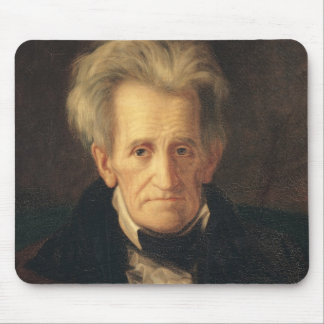 Portrait of Andrew Jackson Mouse Mat