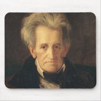 Portrait of Andrew Jackson Mouse Pad