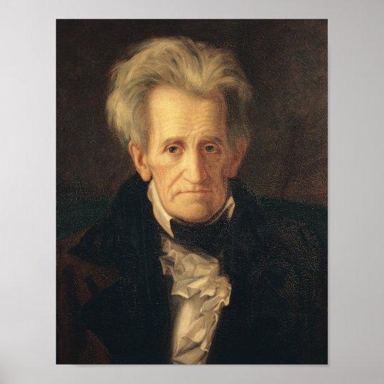 Portrait of Andrew Jackson Poster