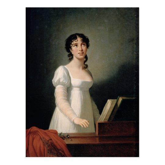 Portrait of Angelica Catalani Postcard