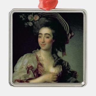 Portrait of Anna Davia-Bernucci, 1782 Christmas Ornament