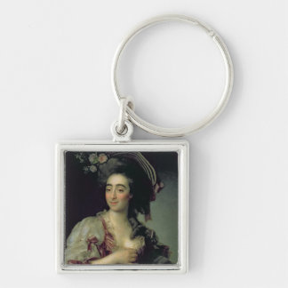 Portrait of Anna Davia-Bernucci, 1782 Key Ring