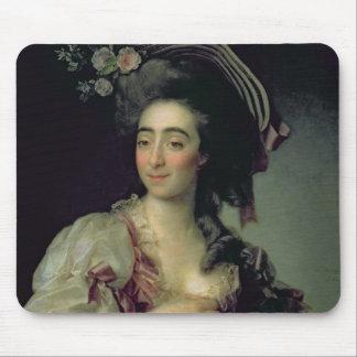 Portrait of Anna Davia-Bernucci, 1782 Mouse Mat