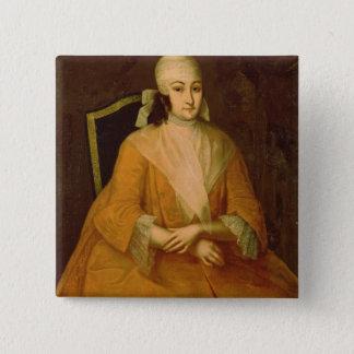 Portrait of Anna Leopoldovna 15 Cm Square Badge