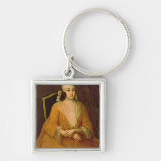 Portrait of Anna Leopoldovna Key Ring