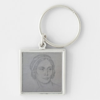 Portrait of Anna Pavlova , 1908 Key Ring