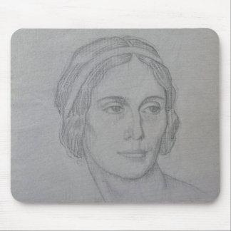 Portrait of Anna Pavlova , 1908 Mouse Pad