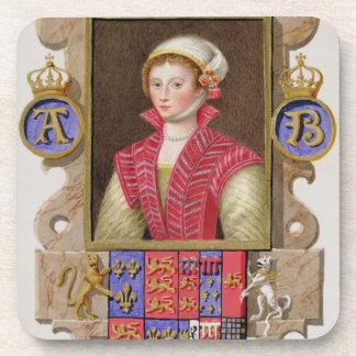 Portrait of Anne Boleyn (1507-36) 2nd Queen of Hen Drink Coasters