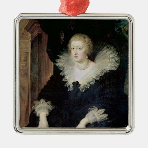 Portrait of Anne of Austria  c.1622 Christmas Ornaments
