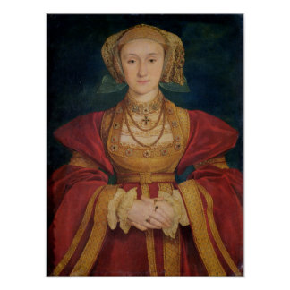 Portrait of Anne of Cleves  1539 Posters