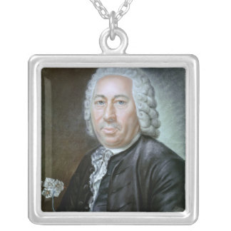 Portrait of Antoine Augustin Parmentier Silver Plated Necklace
