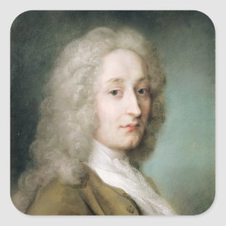 Portrait of Antoine Watteau Square Sticker