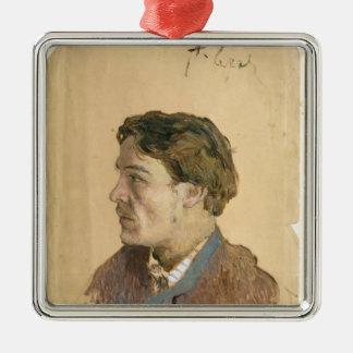Portrait of Anton Chekhov Christmas Tree Ornaments
