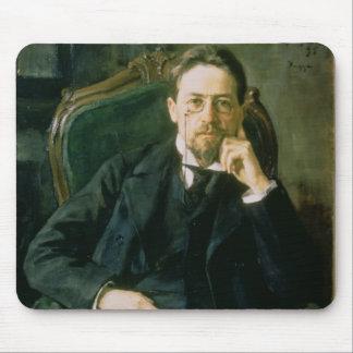 Portrait of Anton Pavlovich Chekhov 1898 Mouse Pad