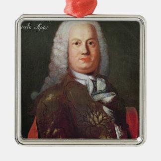 Portrait of Antonio Caldara Christmas Ornament