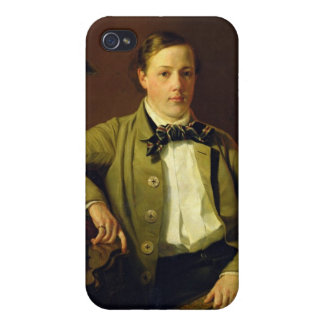 Portrait of Apollon Maykov, 1840 iPhone 4/4S Case