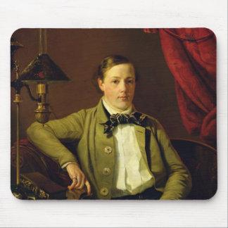 Portrait of Apollon Maykov, 1840 Mouse Mat