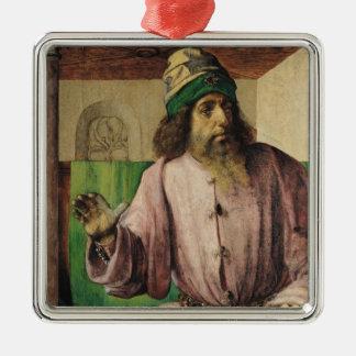 Portrait of Aristotle , c.1475 Christmas Ornament