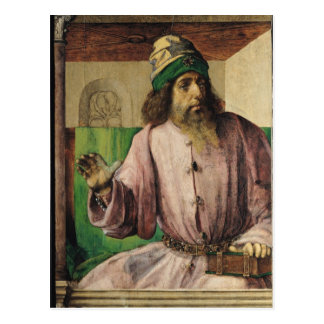 Portrait of Aristotle , c.1475 Postcard