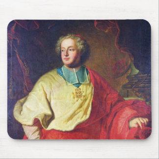 Portrait of Armand Gaston Maximilien de Rohan Mouse Mat