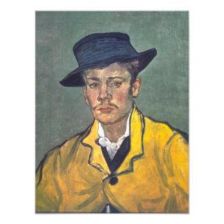 Portrait of Armand Roulin by Vincent Van Gogh Photograph