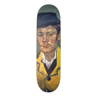 Portrait of Armand Roulin by Vincent Van Gogh Custom Skateboard
