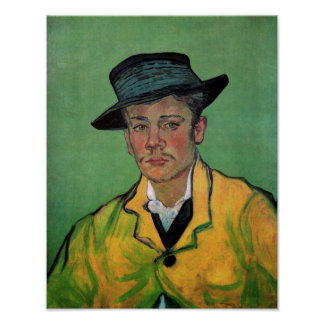 Portrait of Armand Roulin Van Gogh Fine Art Poster