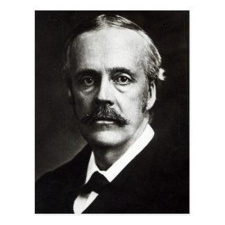 Portrait of Arthur James Balfour Postcard