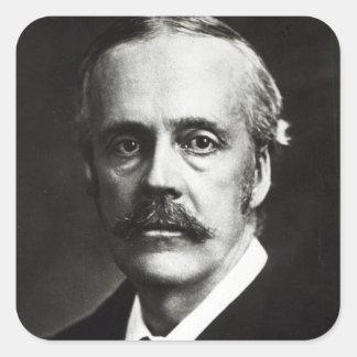 Portrait of Arthur James Balfour Sticker