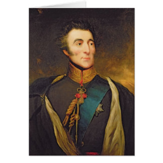 Portrait of Arthur Wellesley Cards