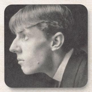 Portrait of Aubrey Beardsley (1872-98) by Frederic Beverage Coaster