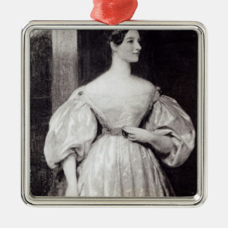 Portrait of Augusta Ada Byron Christmas Ornament