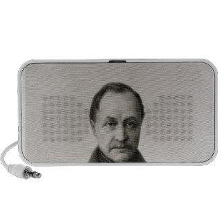 Portrait of Auguste Comte , French philosopher Laptop Speakers