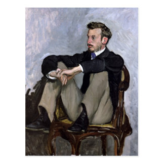 Portrait of Auguste Renoir , 1867 Postcard