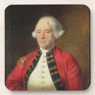 Portrait of Augustin Prevost (1723-86) in Uniform Beverage Coaster