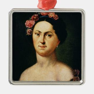 Portrait of Avdotia Istomina, 1830s Christmas Ornament