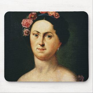 Portrait of Avdotia Istomina, 1830s Mouse Mat