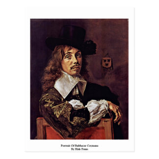 Portrait Of Balthazar Coymans By Hals Frans Postcard