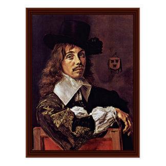 Portrait Of Balthazar Coymans By Hals Frans Postcards
