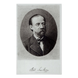 Portrait of Bedrich Smetana Poster
