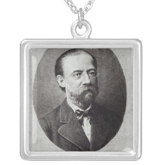 Portrait of Bedrich Smetana Silver Plated Necklace