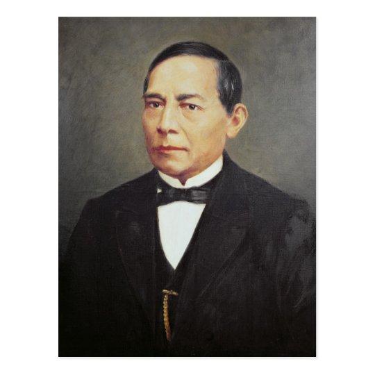 Portrait of Benito Juarez , 1948 Postcard