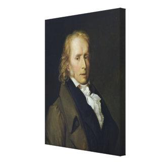 Portrait of Benjamin Constant de Rebecque Canvas Print