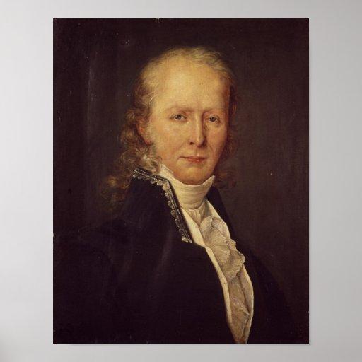 Portrait of Benjamin Constant Print