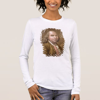 Portrait of Benjamin Franklin (1706-90), from 'Le Long Sleeve T-Shirt