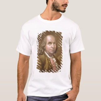 Portrait of Benjamin Franklin (1706-90), from 'Le T-Shirt