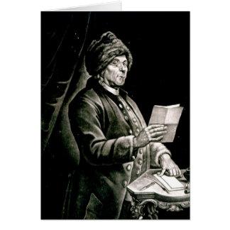 Portrait of Benjamin Franklin, 1777 Card